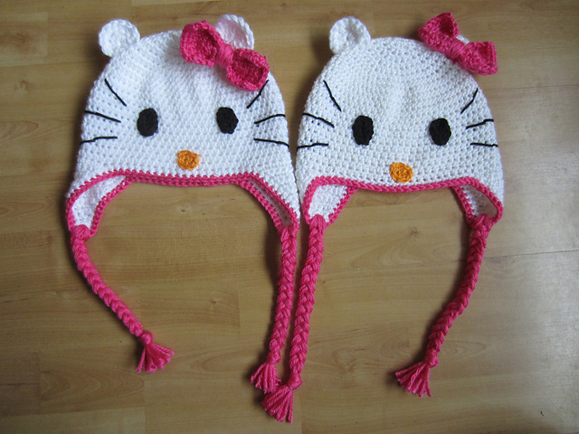 Free Crochet Pattern Hello Kitty Hat : Crochet in Color: Hello Kitty Inspiration