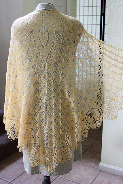 Help Me Choose a Wedding Shawl to Knit All She Wants To Do Is Knit